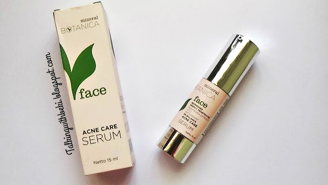 Review Mineral Botanica Acne Serum Indonesia