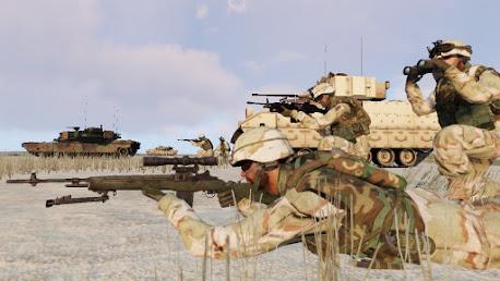 Arma3で2005年のアメリカ陸軍歩兵ユニットMOD