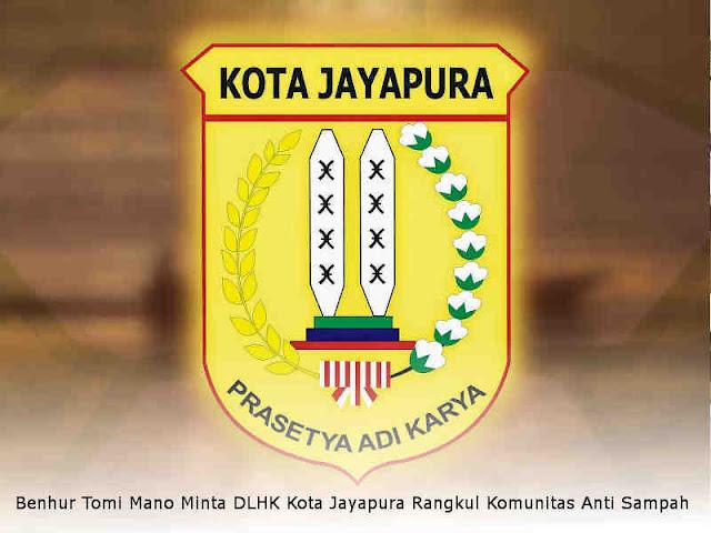 Benhur Tomi Mano Minta DLHK Kota Jayapura Rangkul Komunitas Anti Sampah
