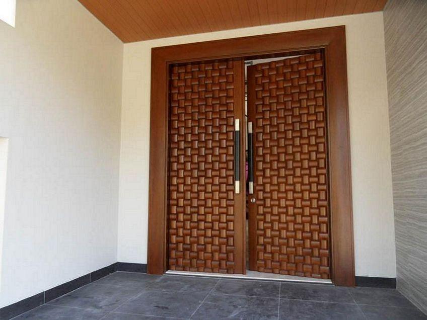 pintu depan rumah modern 3