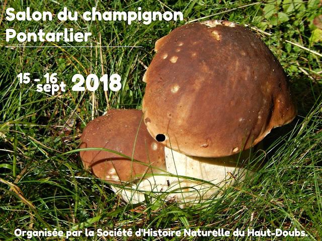 Salon du champignon Pontarlier 2018