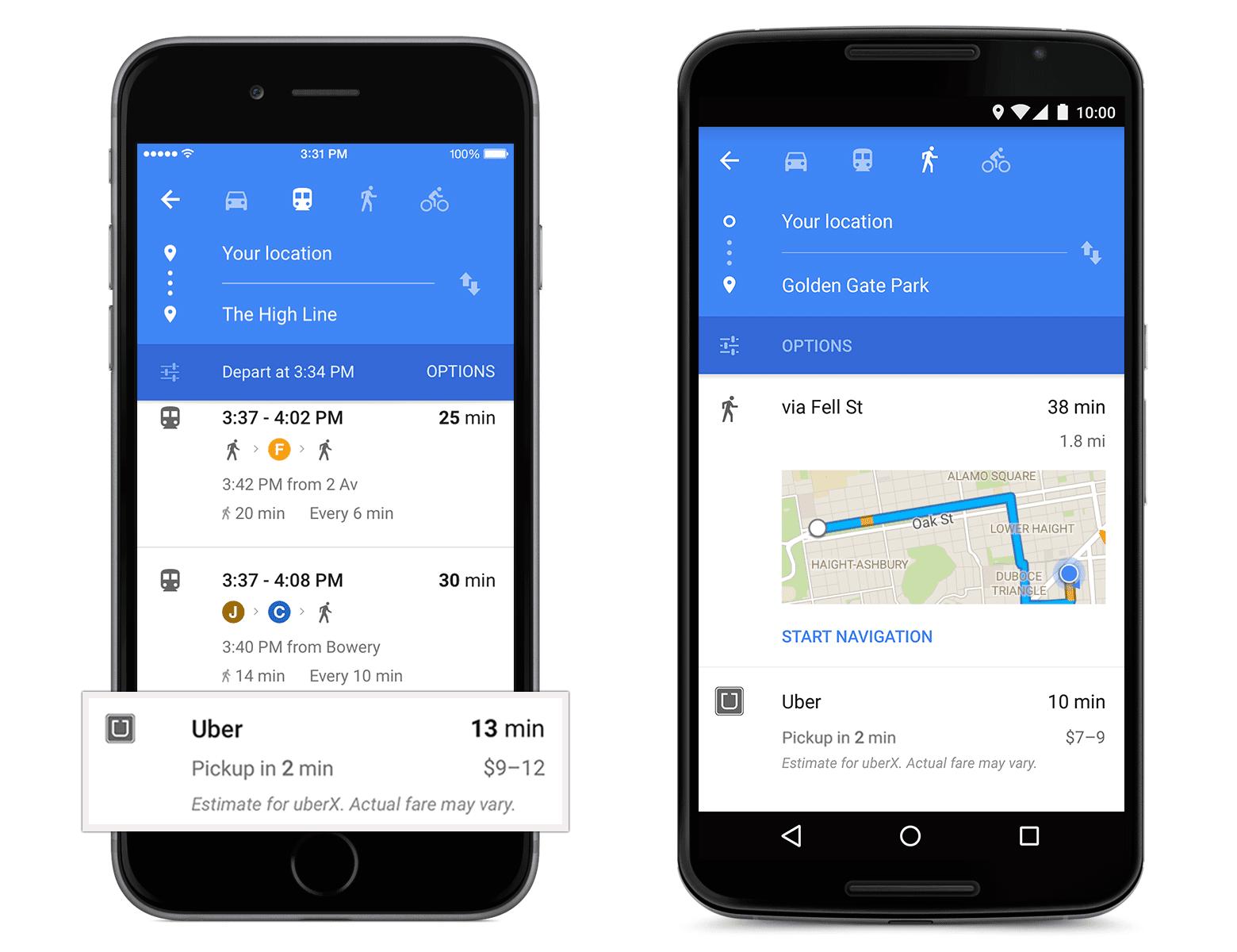 Google Maps ganha novo visual 1