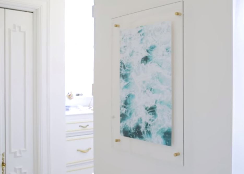 How to Make a Floating Acrylic Frame DIY - Blog Photography Tips ...