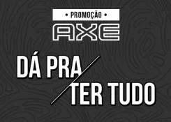Cadastrar Promoção AXE 2019 Dá Pra Ter Tudo