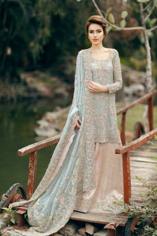 Latest Bridal Walima Dresses 2018 Modern Collection