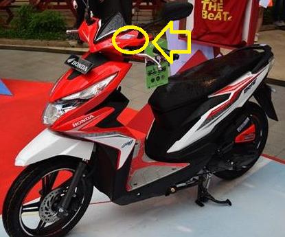 Cara Mengamankan Stiker Fi Motor Honda Matic Ciriseo