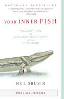 Your Inner Fish by Neil Shubin book cover nonfiction science
