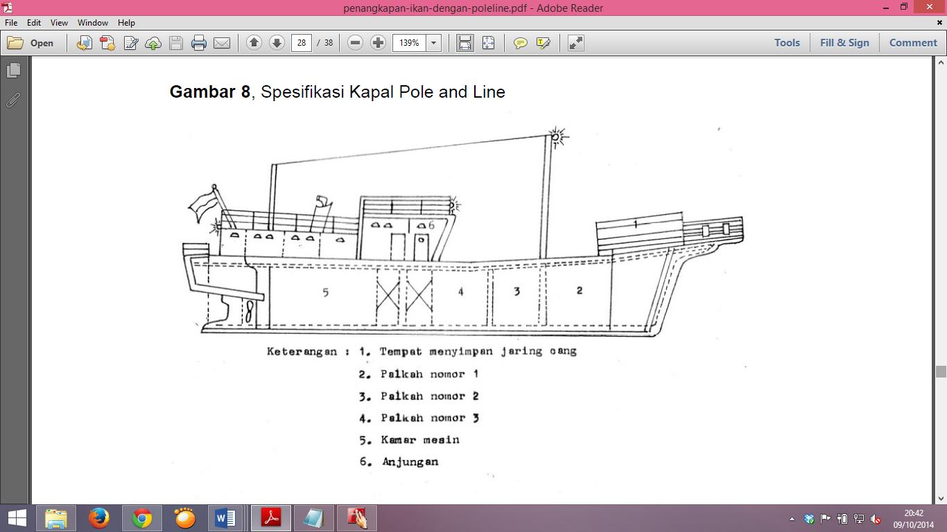 Nautik Kapal Perikanan Kapal Pole End Line