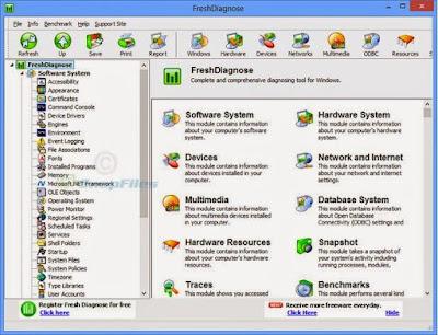 Cara Cepat Mendiagnosa Hardware dan Software di PC Kamu Dengan Aplikasi Fresh Diagnose
