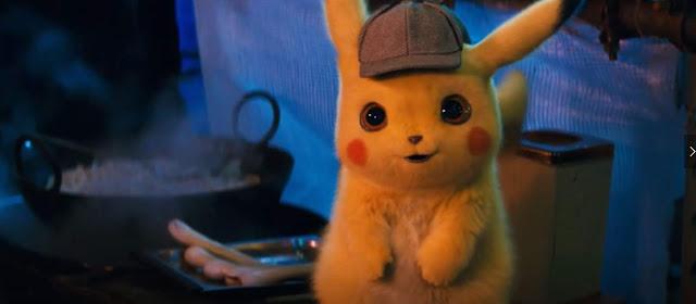 Detective Pikachu lanza su primer tráiler