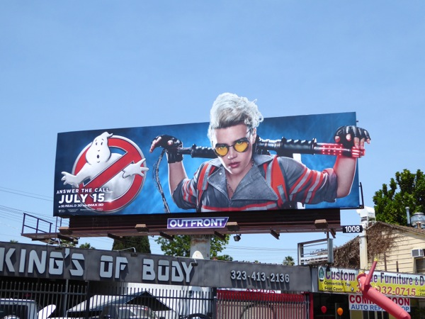 Kate McKinnon Ghostbusters billboard