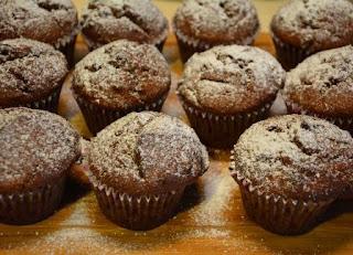 babeczki bananowo-czekoladowe