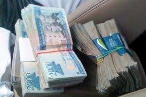 Resultado de imagen para fotos de mucho dinero dominicano acumulados