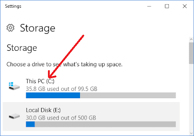 delete temporary files in Windows 10