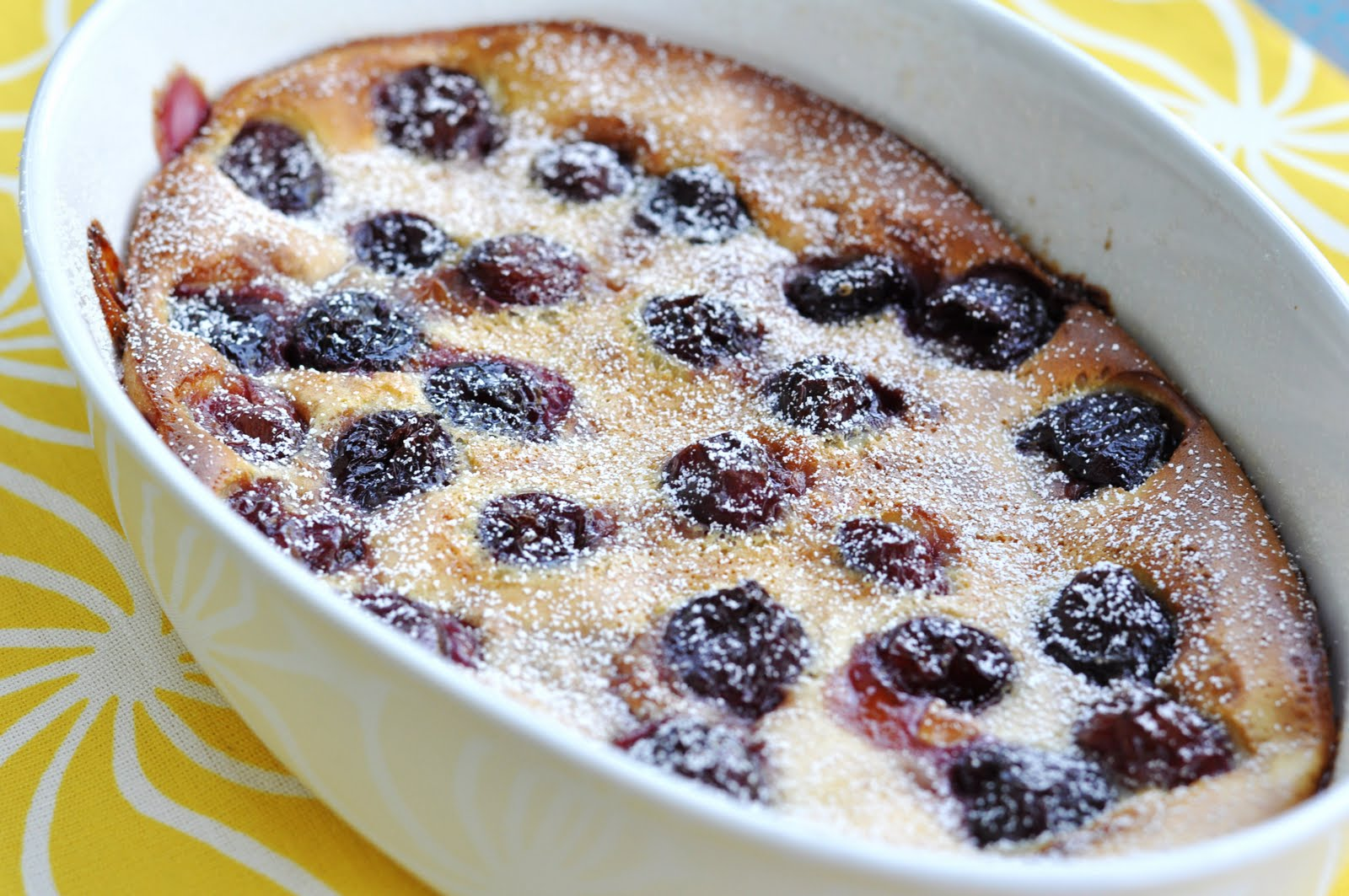 Cherry Clafoutis Recipe — Dishmaps