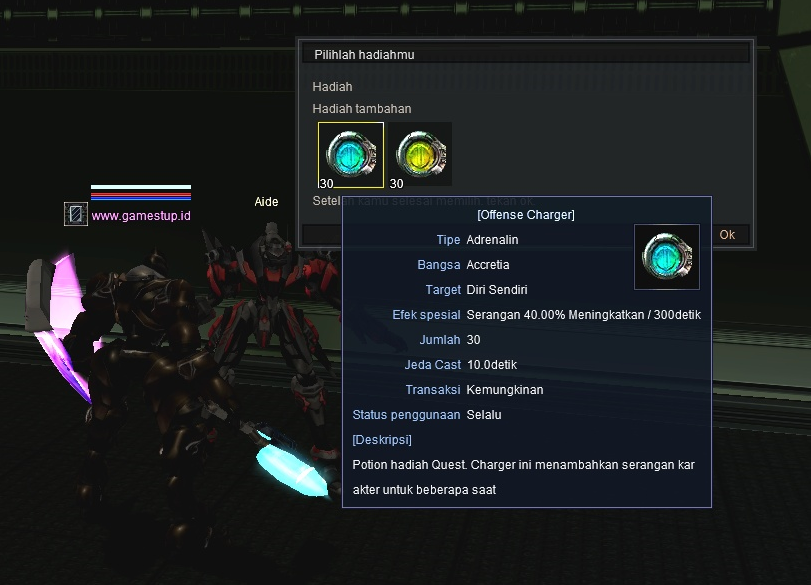 Quest OD 40% RF Online - NPC Aide