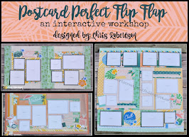 Postcard Perfect Flip Flap Workshop