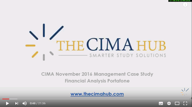 MCS November 2016 - Financial Analysis - Portafone CIMA