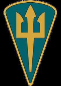 знак морської піхоти ВМС