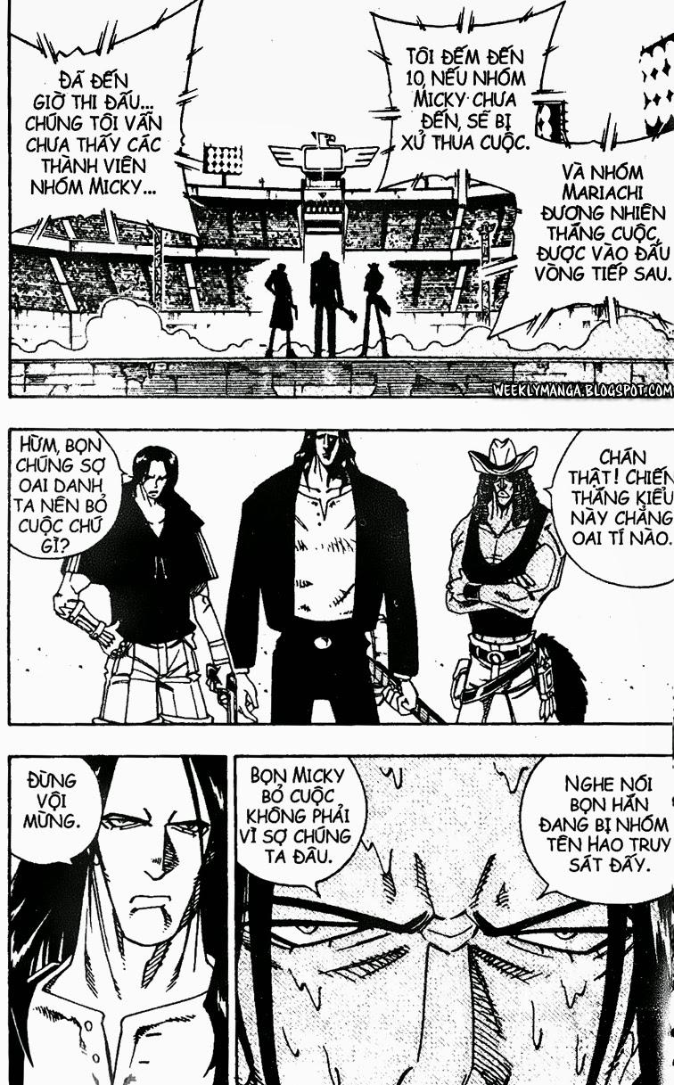 Shaman King [Vua pháp thuật] chap 153 trang 5