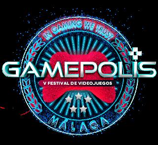 5 edición de Gamepolis, la feria malagueña del videojuego.