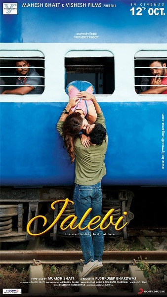 Jalebi new upcoming movie first look, Poster of Rhea, Varun, Digangana next movie download first look Poster, release date