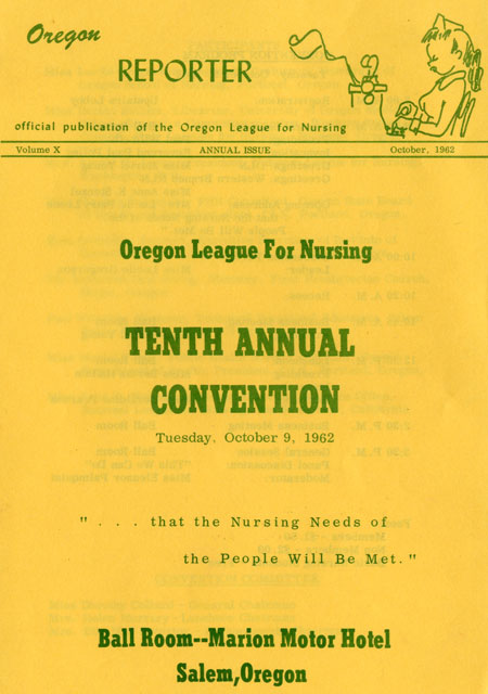 """Oregon Reporter"" annual convention issue, volume 10, October 1962"