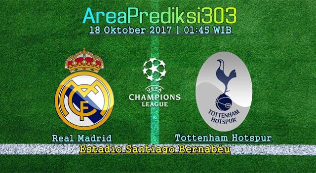 Prediksi Bola Real Madrid vs Tottenham Hotspur 18 Oktober 2017