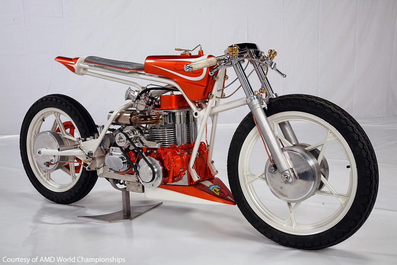 Grease N Gas Custom Bike Fiat Abarth