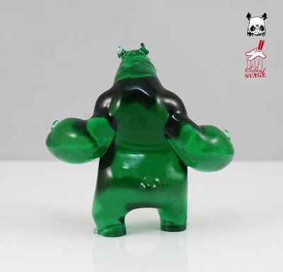 Panda King III Mini 420 Edition Resin Figure by Woes Martin x Silent Stage Gallery
