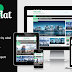 MKRflat Responsive Magazine News Blogger Theme
