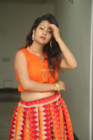 Shubhangi Bant in Orange Lehenga Choli Stunning Beauty ~  Exclusive Celebrities Galleries 060.JPG