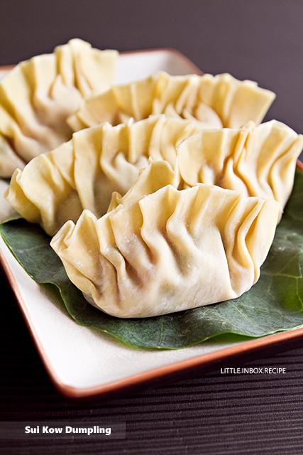 Little Inbox Recipe Eating Pleasure Sui Kow Dumpling 水饺