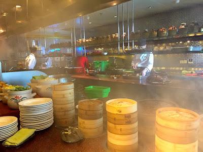 Und im Yi Cafe? Eine Garküche für die Zubereitung unterschiedlicher Dim Sun-Variationen © diekremserin on the go