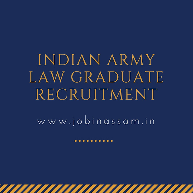 Indian Army Law Graduate Recruitment- 2017 - JAG Entry