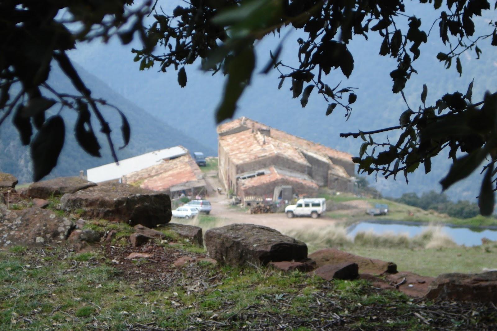Montseny, masies de la mora