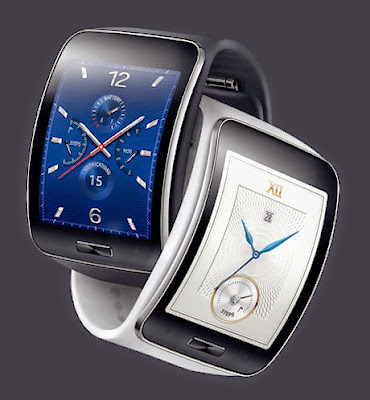 Samsung Gear S allows you to be lively and productive while on the go, with its extended features