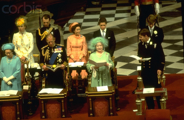 The Royal Order Of Sartorial Splendor Flashback Friday Charles And Diana S Wedding Guests