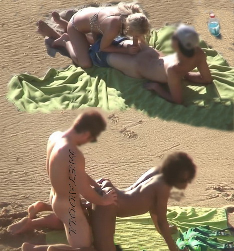 Spying on Couples Fucking at the Beach (Beach Safaris Sex 30-31)