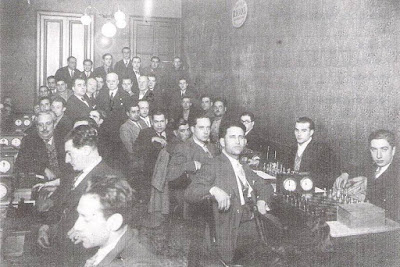 Local social del Club Unió d'Escacs en 1931