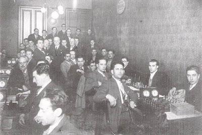 Local social del Club Unió d'Escacs en 1931