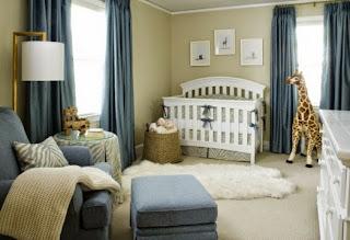dormitorio de bebé decorado