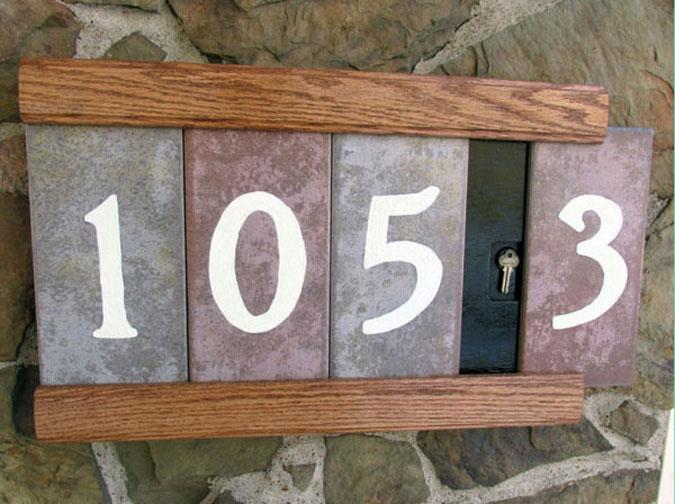Números de Casa Estilosos 03