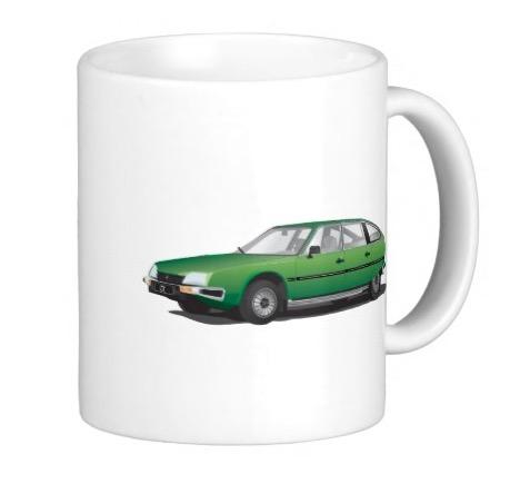 Citroën CX mug
