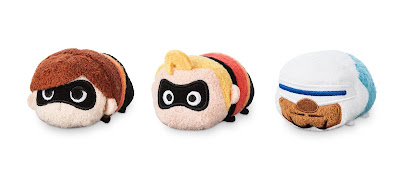 Incredibles 2 Tsum Tsum Plush Collection by Disney