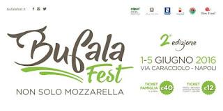 Bufala Fest sul Lungomare di Napoli