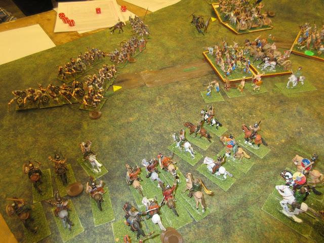 HMGS Little Wars 2017 Hail Caesar Roman Briton