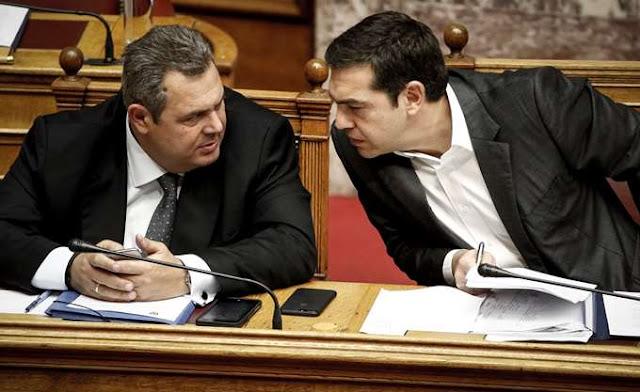 """Δεν θέλει να """"σηκώσει"""" το γάντι των προκλήσεων Καμμένου ο Τσίπρας"""