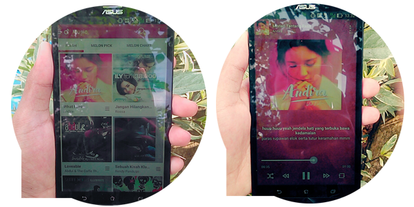Lagu dan Keajaiban - Bukti Melon di Smartphoneku