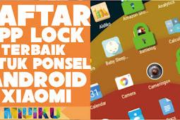 5 Daftar AppLock Terbaik Android Xiaomi Saat Ini